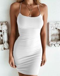 Φόρεμα - κώδ. 9098 - λευκό