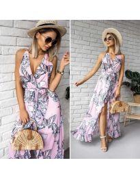 Φόρεμα - κώδ. 617 - ροζ