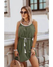 Φόρεμα - κώδ. 8800 - χακί