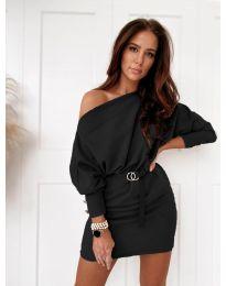 Φόρεμα - κώδ. 4442 - μαύρο