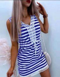 Φόρεμα - κώδ. 20100 - μπλε