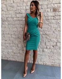 Φόρεμα - κώδ. 1104 - πράσινο