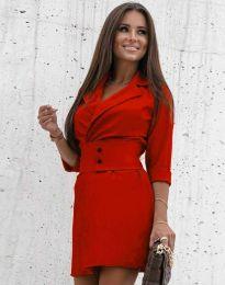 Φόρεμα - κώδ. 1356 - κόκκινο