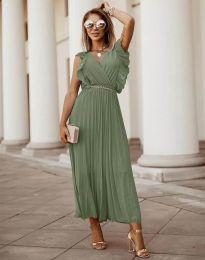 Φόρεμα - κώδ. 3320 - χακί