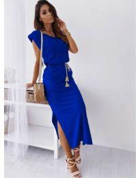 Φόρεμα - κώδ. 6622 - σκούρο μπλε