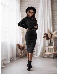 Φόρεμα - κώδ. 7719 - μαύρο