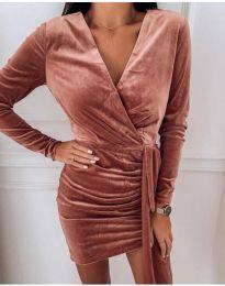 Φόρεμα - κώδ. 62688 - 1 - χάλκινο
