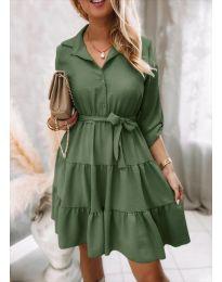 Φόρεμα - κώδ. 6970 - πράσινο