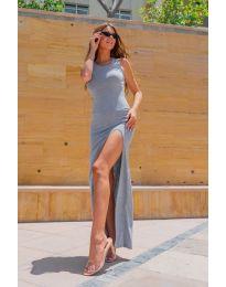 Φόρεμα - κώδ. 11966 - γκρι