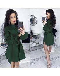 Φόρεμα - κώδ. 6364 - χακί