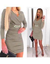 Φόρεμα - κώδ. 8999 - γκρι