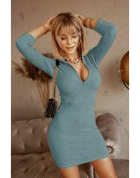 Φόρεμα - κώδ. 3107 - τυρκουάζ