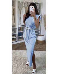Φόρεμα - κώδ. 7049 - γαλάζιο