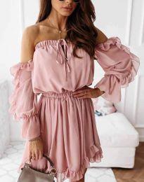 Φόρεμα - κώδ. 0223 - πούδρα