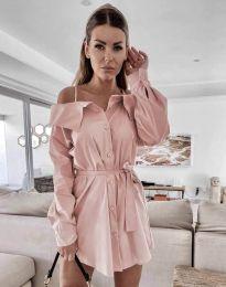 Φόρεμα - κώδ. 1457 - ροζ