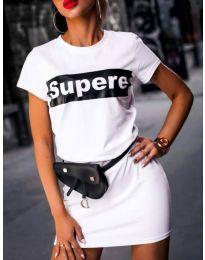Φόρεμα - κώδ. 217 - λευκό
