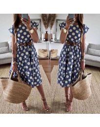 Φόρεμα - κώδ. 1415 - μπλε