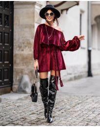Φόρεμα - κώδ. 324 - μπορντό