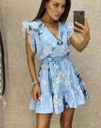 Φόρεμα - κώδ. 8125 - γαλάζιο