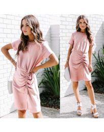Φόρεμα - κώδ. 835 - ροζ