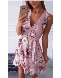 Φόρεμα - κώδ. 739 - ροζ