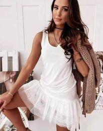 Φόρεμα - κώδ. 2994 - λευκό