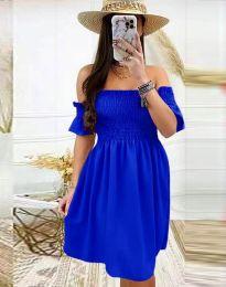 Φόρεμα - κώδ. 1409 - σκούρο μπλε