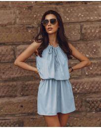 Φόρεμα - κώδ. 8399 - γαλάζιο