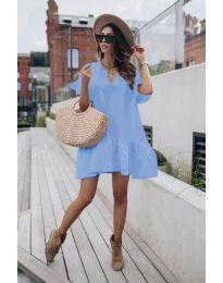 Φόρεμα - κώδ. 6868 - γαλάζιο