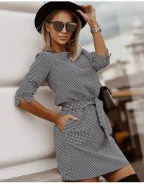 Φόρεμα - κώδ. 3060 - 1 - πολύχρωμο
