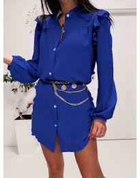 Φόρεμα - κώδ. 3433 -  Σκούρο μπλε