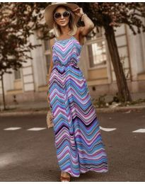 Φόρεμα - κώδ. 9852 - πολύχρωμο