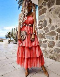 Φόρεμα - κώδ. 1543 - κόκκινο