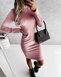 Φόρεμα - κώδ. 9368 - ροζ
