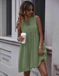 Φόρεμα - κώδ. 0286 - λαδί