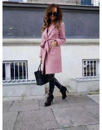 Παλτό - κώδ. 7940 - ροζ