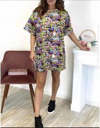 Φόρεμα - κώδ. 119 - πολύχρωμο