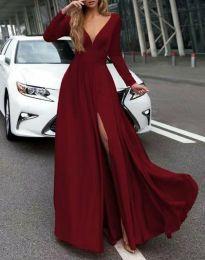 Φόρεμα - κώδ. 3428 - μπορντό