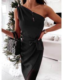 Φόρεμα - κώδ. 6442 - 2 - μαύρο