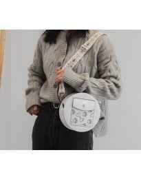 Τσάντα - κώδ. B163 - λευκό