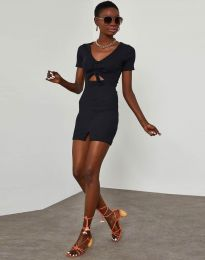 Φόρεμα - κώδ. 1294 - μαύρο
