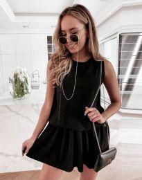 Φόρεμα - κώδ. 6612 - 1 - μαύρο