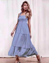 Φόρεμα - κώδ. 1729 - γαλάζιο