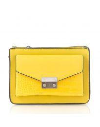 Τσάντα - κώδ. D8506 - κίτρινο