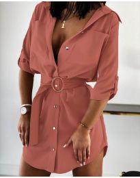 Φόρεμα - κώδ. 976 - πούδρα