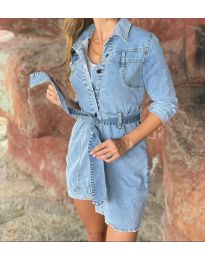 Φόρεμα - κώδ. 0459 - 1 - μπλε