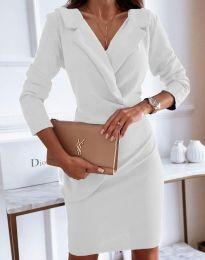 Φόρεμα - κώδ. 4159 - λευκό