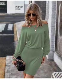Φόρεμα - κώδ. 4447 - πράσινο