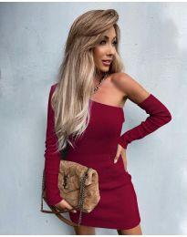 Φόρεμα - κώδ. 4933 - μπορντό