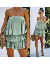 Φόρεμα - κώδ. 0489 - πράσινο